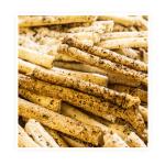 paluszki wytrawne – paluszki z Delikatnego ciasta francuskiego posypane przyprawami wytrawnymi.