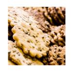 gwiazdeczki z słonecznikiem – kruche maślane ciasteczka posypane słonecznikiem.