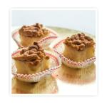 Ciasteczka bankietowe Tradycyjny jabłecznik na spodzie ciasta biszkoptowego z prażonymi jabłkami zapieczone w cieście kruchym , przykryty warstwą ciasta.