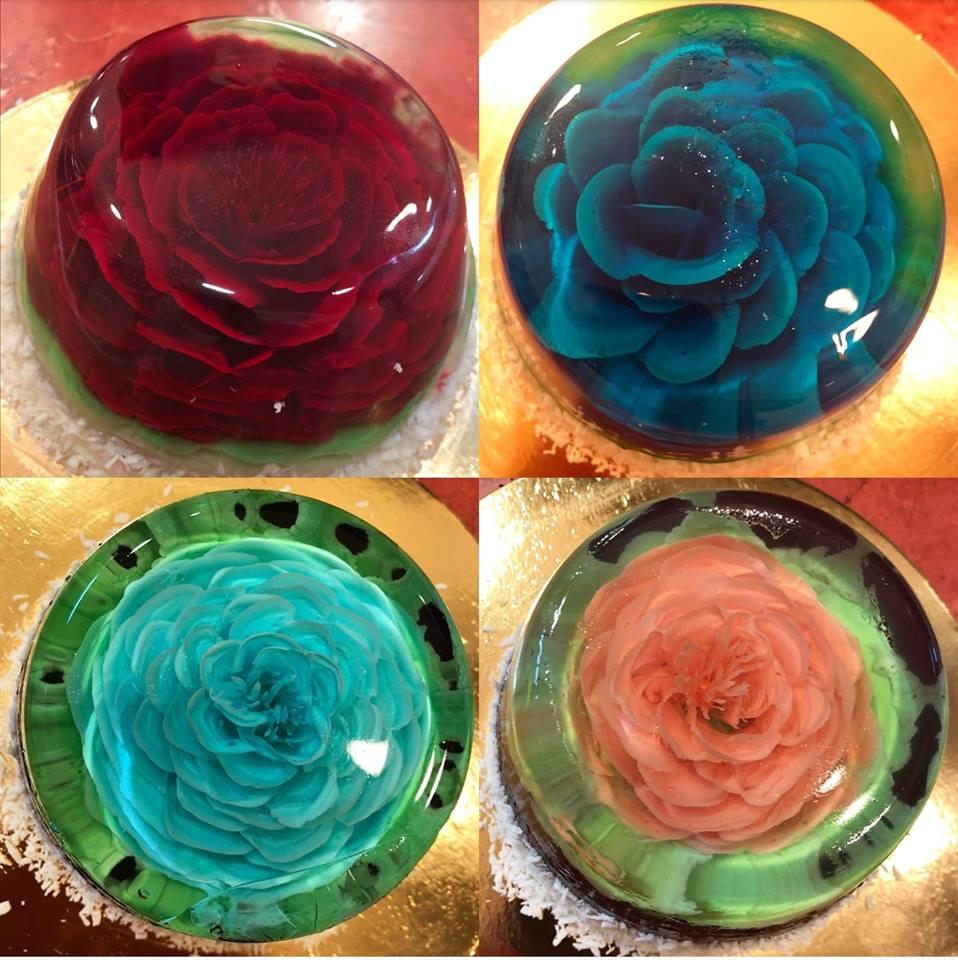 Wiosna zagościła w naszych cukierniach 🌹🌸🌺 Nowość! Piękne galaretki w różnych kolorach 😊  Serdecznie zapraszamy! 😋
